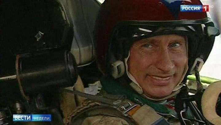 Путин рассказал о полете на