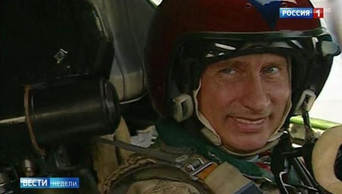 Владимир Путин рассказал о полёте на «Белом лебеде» Ту-160