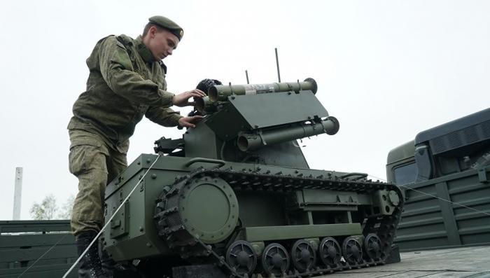 Русские боевые роботы. Американский эксперт рассказал об их превосходстве