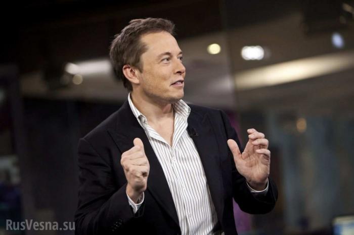 Мошенник Илон Маск издевается наднаивными дураками: огнемёты за 500 долларов