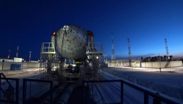Космодром Восточный: ракету «Союз» вывезли на стартовый комплекс