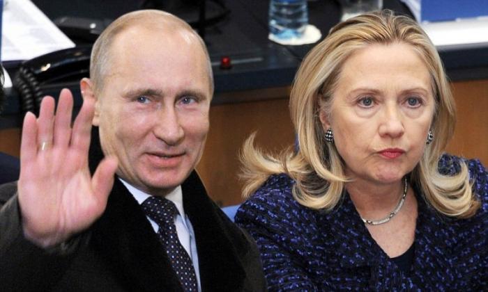 Видео «Путин смеётся над предупреждениями Хиллари Клинтон» покорило Запад
