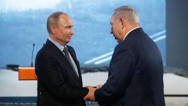 Нетаньяху получил в подарок от Владимира Путина письмо Шиндлера