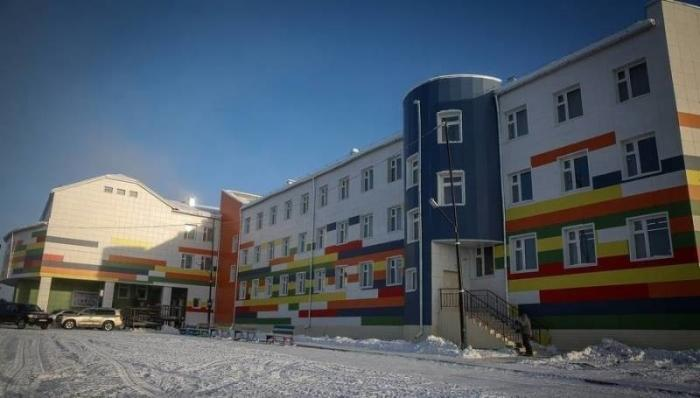 Открылась очередная школа на400 мест теперь уже вЯкутии