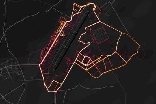 Обычный фитнес-трекер раскрыл секреты американской военной базы в Сирии