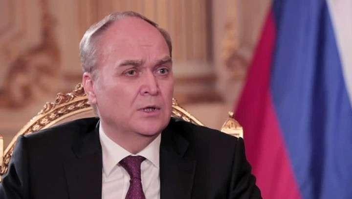 Посол в США Анатолий Антонов: Россию санкциями не запугать