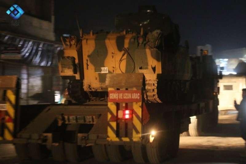 Сирия: турецкий военный конвой в Идлибе