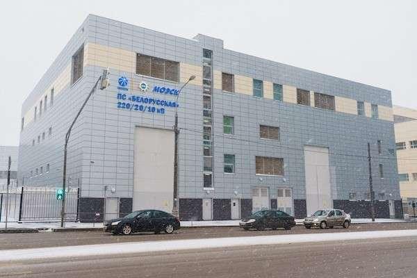 ВМоскве завершено создание энергетического кольца 220 кВ, состоящего из12 современных подстанций