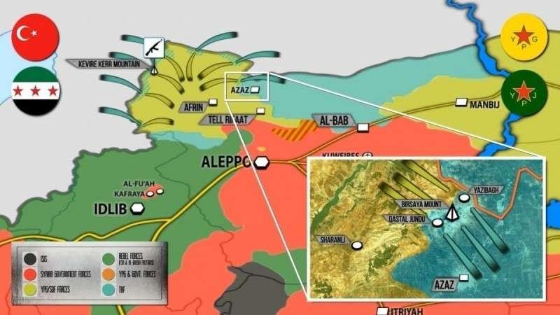 Сирия. Турция заявляет о 557 убитых за 9 дней