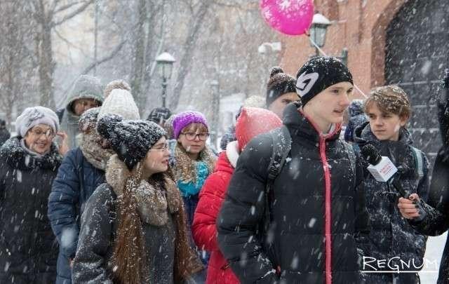 Дети рассказывают о себе репортерам ИА «Красная Весна»