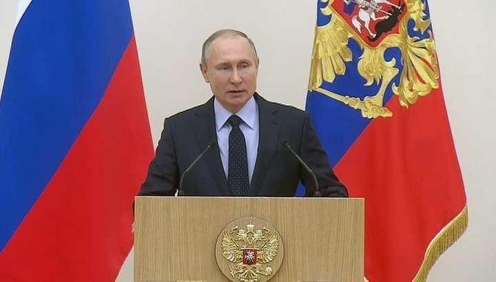 Владимир Путин встретился с участниками Олимпийских игр в Пхенчхане