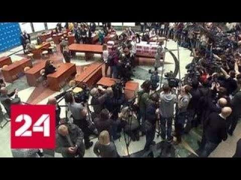 В среду Центризбирком закончил прием документов от кандидатов в президенты