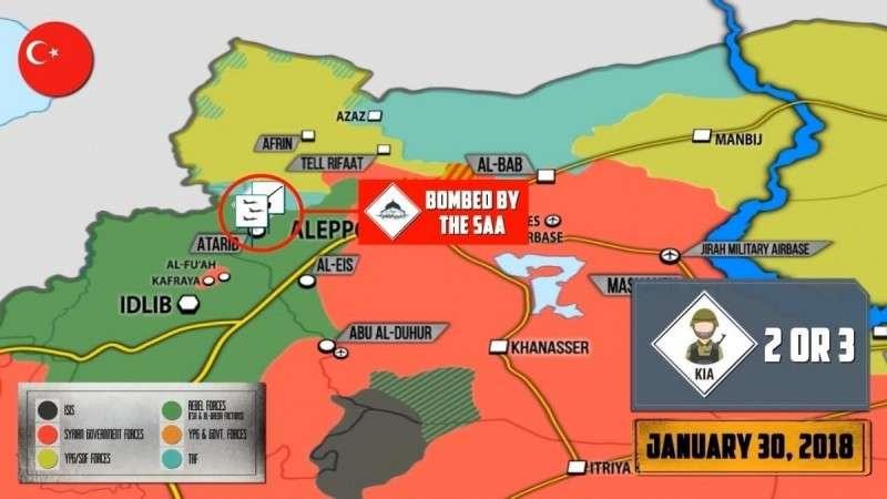 Сирия. Дерзкая атака курдов на турецкий конвой