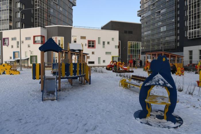 В Ленинградской области открыты два новых детских сада на140 и110 мест