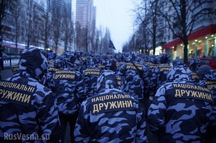 Украина. Национальные дружины: отхуторской бандеровщины кнеонацизму
