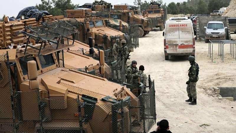 Сирия: Курды обстреляли ракетами юг Турции