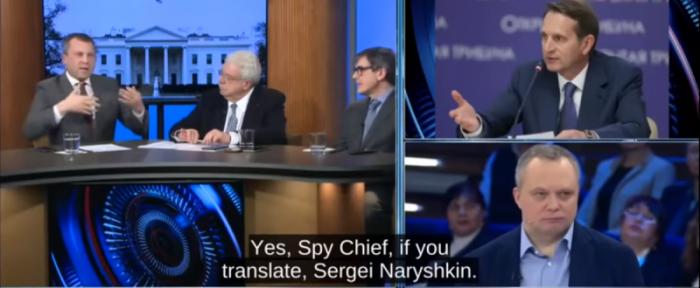 Таинственный визит главы СВР Сергея Нарышкина в США вызвал панику у русофобов