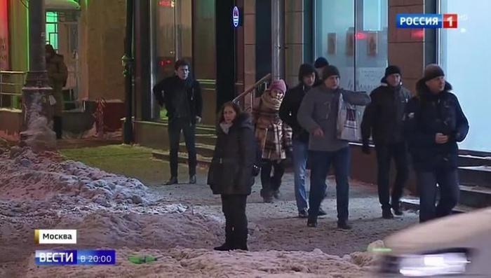 Москва встречает рекордный снегопад, который бывает раз в 100 лет