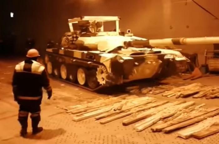 В Ирак отправилась первая партия российских танков Т-90С