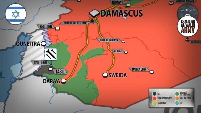 Сирия. Израильские террористы якобы нанесли удары по ИГИЛ