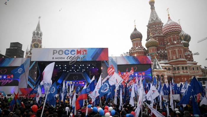 По всей России проходит патриотическая акция «Россия в моем сердце!»