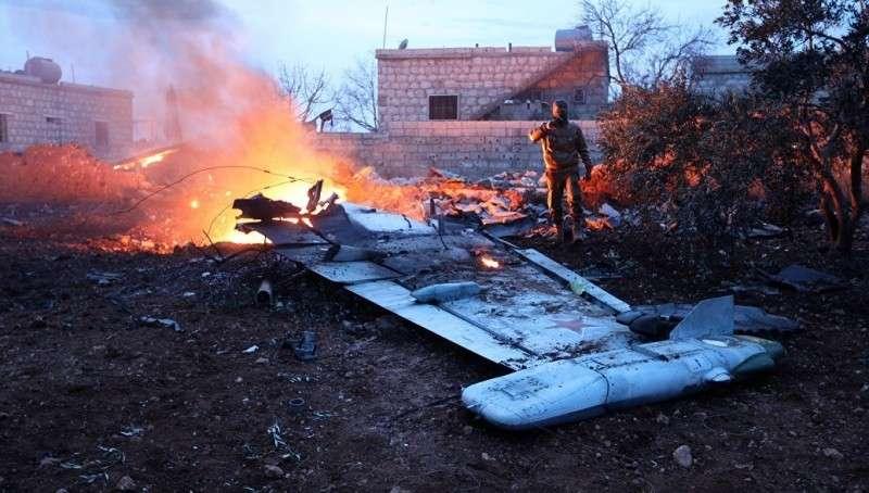Сирия: Российский Су-25 сбит в провинции Идлиб, пилот погиб, сражаясь с боевиками