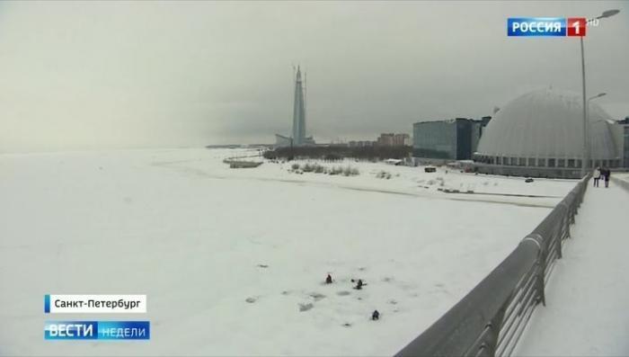 В Петербурге построили самое высокое здание в Европе