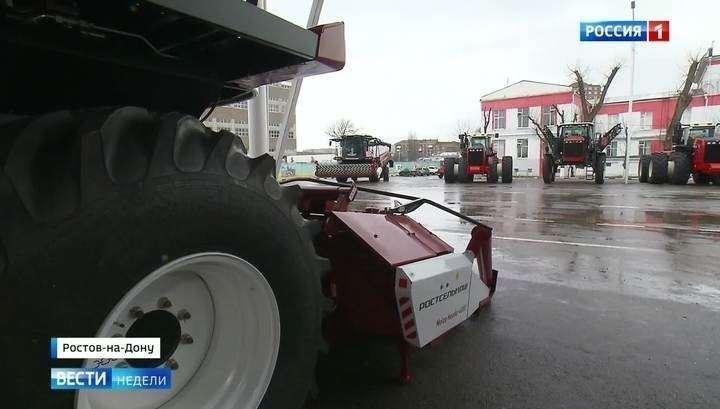 Развитие Ростова-на-Дону: новые комбайны, аэропорт и стадион