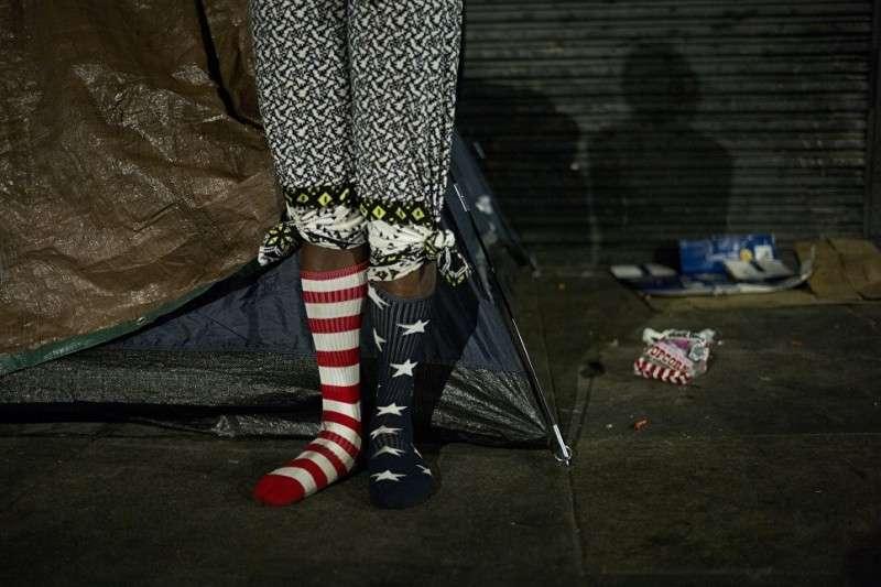 В «процветающих» США 40 миллионов американцев – бомжи