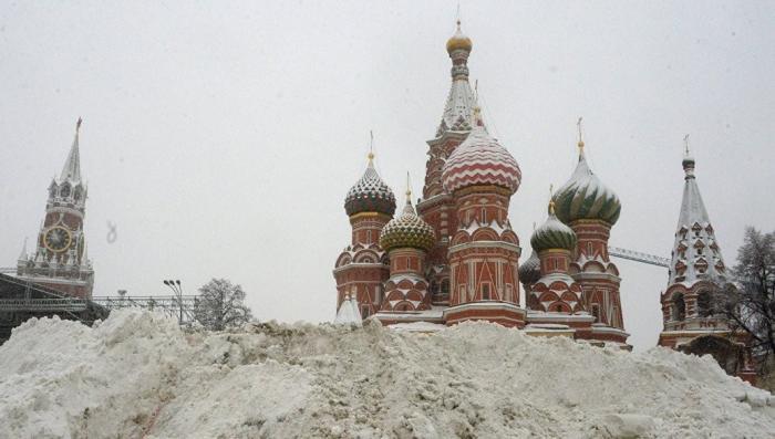 Снегопад в Москве: британцы поразились – это снежный Армагеддон!