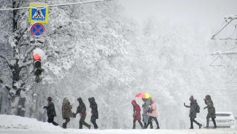 Видео. Снегопад в Москве установил столетний рекорд!