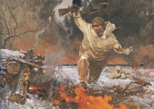Герои Великой Отечественной Войны. Погибаю, но не сдаюсь!