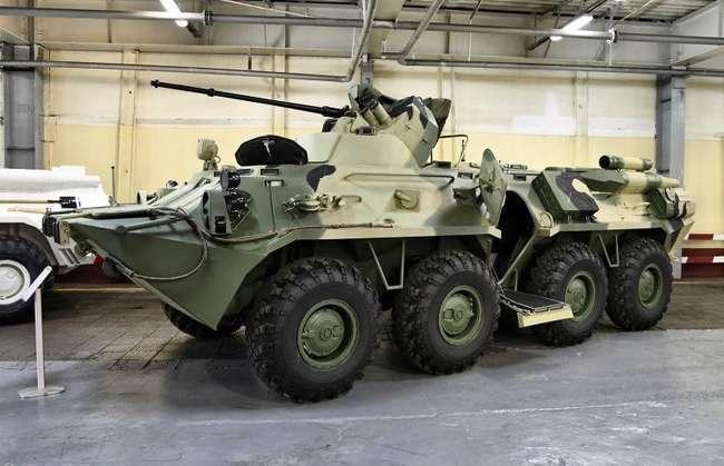 Новые бронетранспортеры для армии России