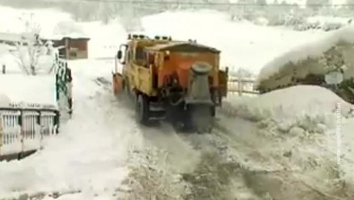 Снегопад терзает Европу: блэкаут, транспортный коллапсы на Балканах и Испании