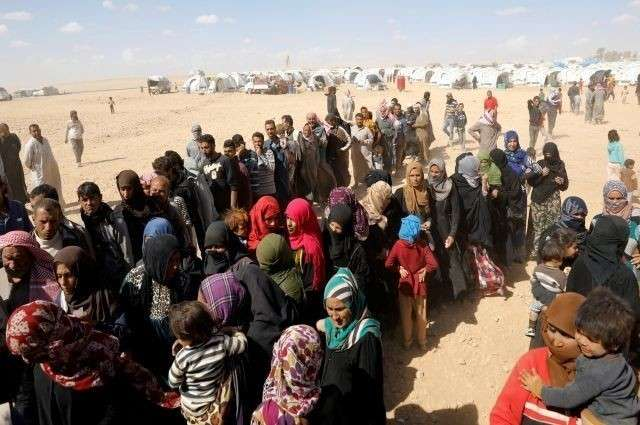 Пиндосы создали настоящий концлагерь на Сирийско-Иорданской границе