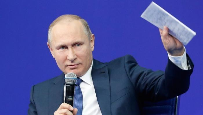 ЦИК зарегистрировал Владимира Путина кандидатом в президенты