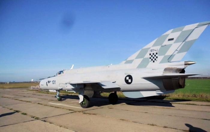 Хорватия требует от Украины заменить «фальшивые» истребители МиГ-21 «настоящими»