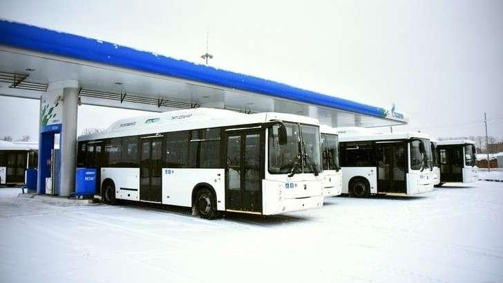 КАМАЗ поставил партию газомоторных автобусов вВологду