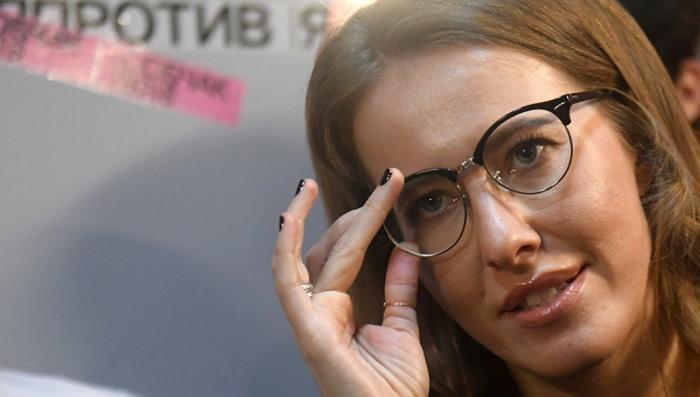 У Собчак в Вашингтоне ухудшилось зрение, не видя угроз для России со стороны НАТО