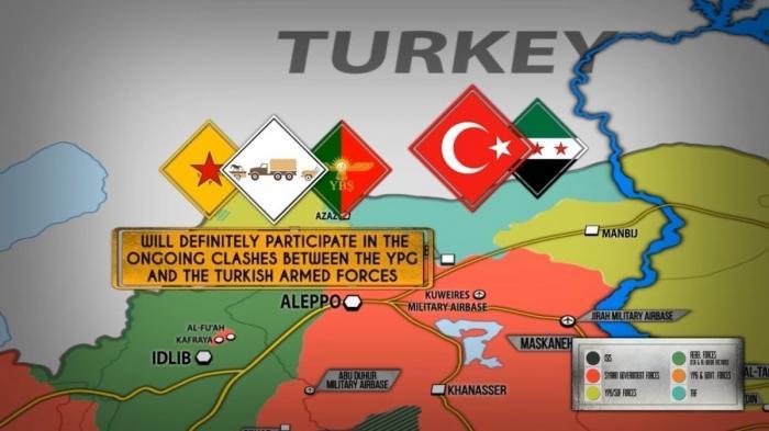 Сирия. Курды Африна получили подкрепление в 5 тыс. бойцов