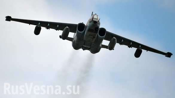 Лётчик второго Су-25 рассказал о прикрытии майора Филипова в бою с наёмниками США | Русская весна
