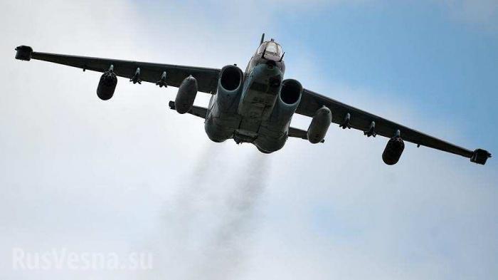 Лётчик второго Су-25 рассказал о прикрытии майора Филипова в бою с наёмниками США