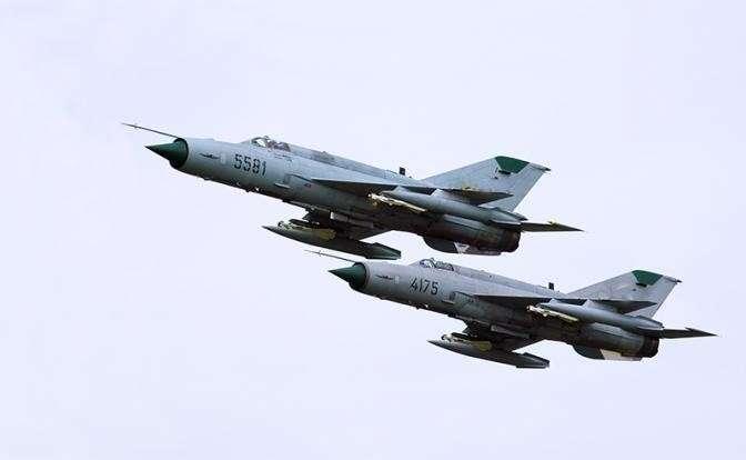 На фото: МиГ-21