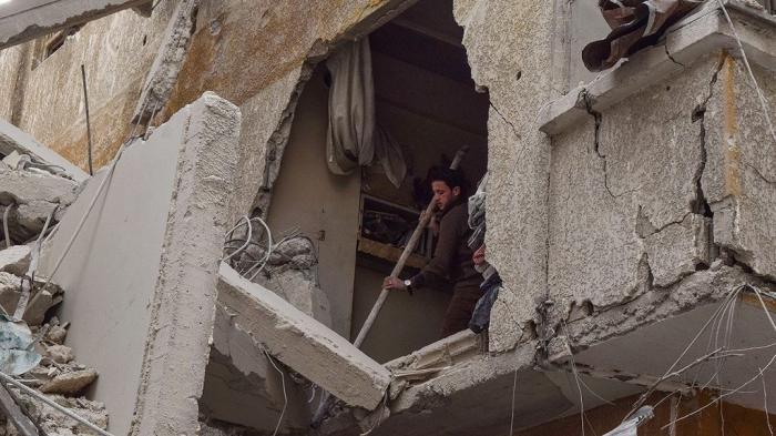 Израильские террористы обстреляли ракетами Сирию