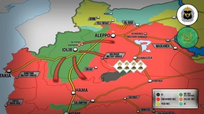 Сирия, Идлиб. Россия наращивает на фронтах спецназ ССО и другие войска для рывка