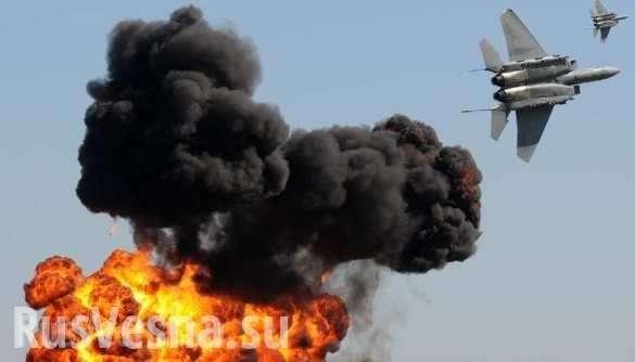 Сирия: правительственная армия атаковала наёмников США, Коалиция нанесла ответный удар | Русская весна
