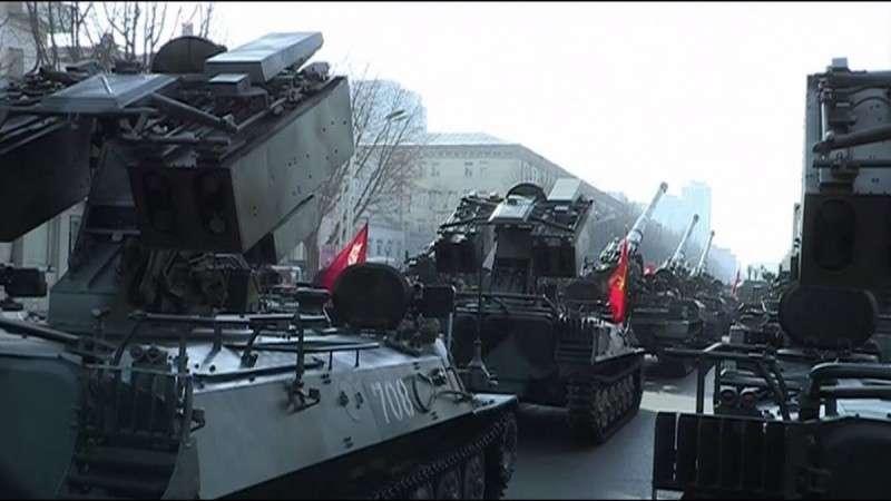 Северная Корея показала военную мощь перед Олимпиадой в Пхёнчхане