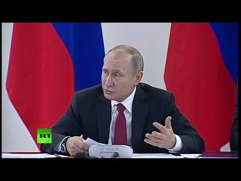 Владимир Путин: «О глобальной конкурентоспособности российский науки»
