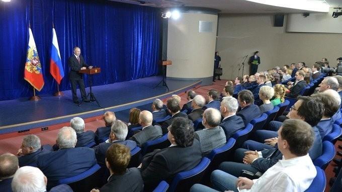 Владимир Путин вручил премии Президента в области науки и инноваций для молодых учёных