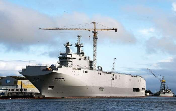 «Мистраль» по-русски. Россия может наладить собственное производство аналога французских вертолетоносцев
